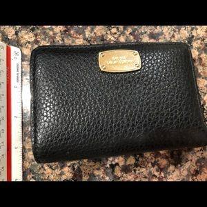 Michael Kors 3.5 x 5 Black bifold Wallet